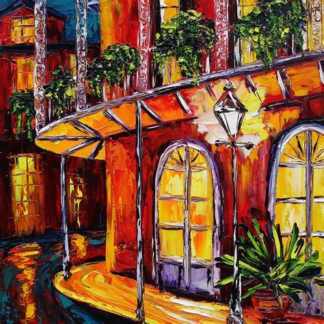 artist new orleans new orleans original painting quarter glow