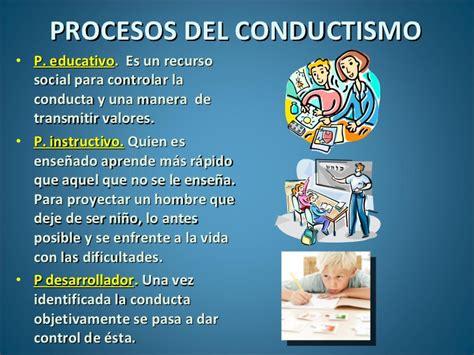 la aplicacin de tcnicas cognitivo y conductuales para el el conductismo en la educaci 243 n