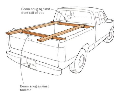 short sheet a bed transport sheet goods in a short bed pickup finewoodworking