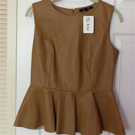 camel colored tops 72 olivaceous tops olivaceous camel colored peplum