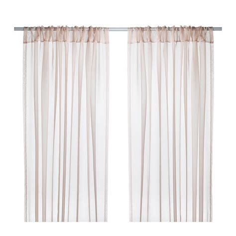ikea curtain teresia sheer curtains 1 pair ikea
