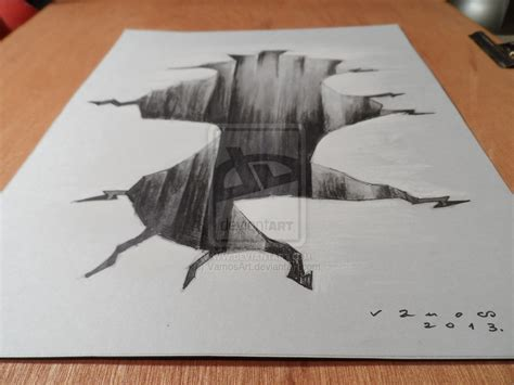 How To Make A 3d Drawing On Paper - cool easy designs to draw on paper for