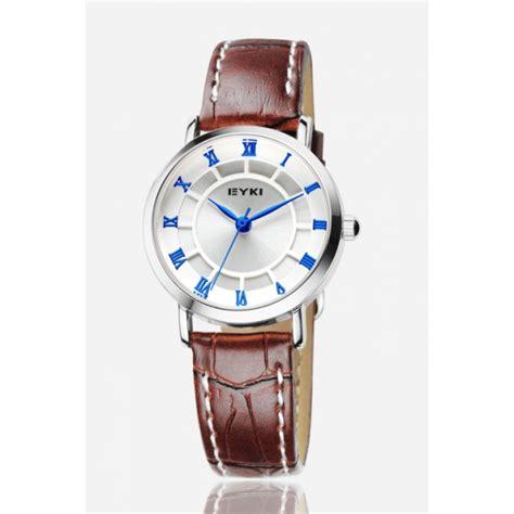 Jam Kulit jam tangan pria kulit eyki