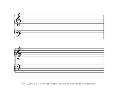 musical staff lines on flash cards template 12 best photos of big print staff papers printable large