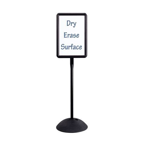 sign stands write way rectangular message sign stand