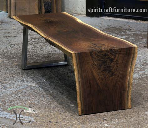 live edge wood desk live edge coffee table wood coffee table industrial