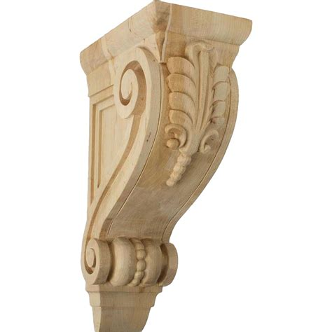 Solid Wood Corbels Solid Wood Corbels Architectural Millwork