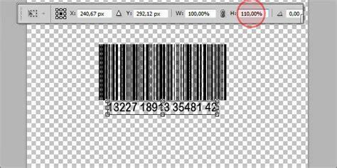 membuat barcode otomatis cara membuat sticker barcode di photoshop