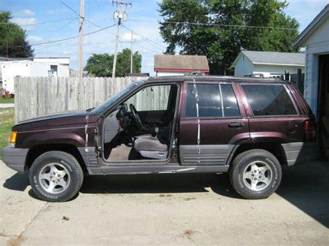 1996 Jeep Laredo Purchase Used 1996 Jeep Grand Laredo Sport
