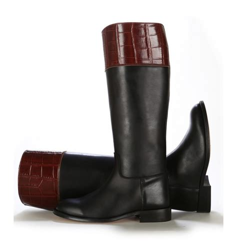 two toned boots two tone leather boots for leather