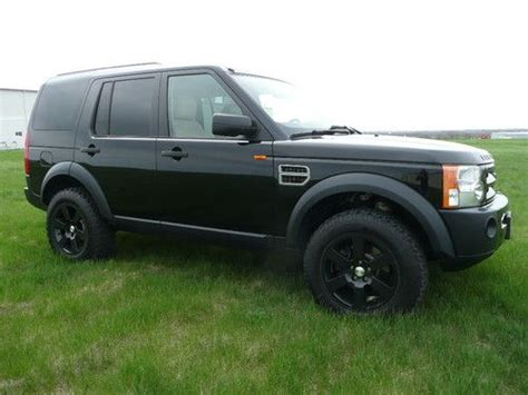 lifted land rover lr3 sell used 2007 land rover lr3 3rd row 2 5 quot lift pc d