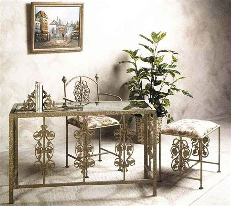 Wrought Iron Vanity Table by Wrought Iron Desks And Vanity Tables
