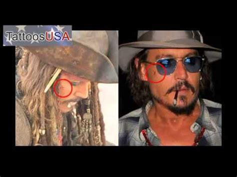 johnny depp on his tattoos youtube