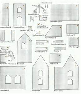 house patterns 17 best images about gingerbread houses on pinterest