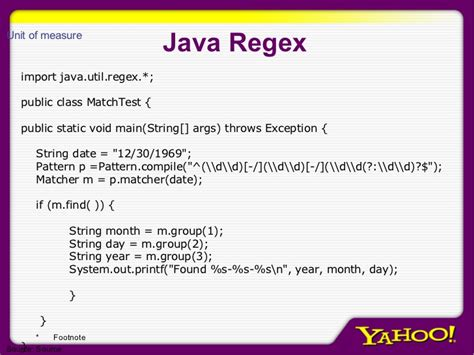 java util regex pattern regular expressions