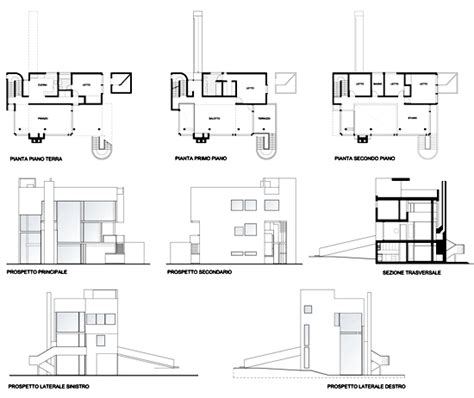 smith house smith house richard meier plans house design plans