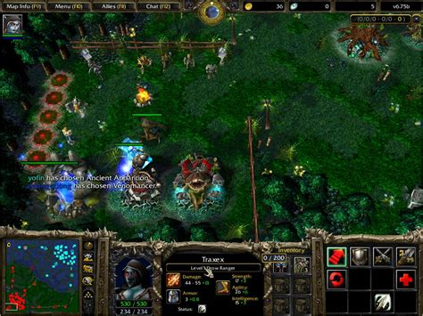 tutorial maphack dota 1 24b download maphack 1 24b work for dota warcraft iii the