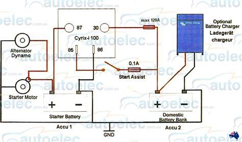 make your own sensitive resistor victron dual battery smart voltage sensitive relay isolator 120 12v cyrix