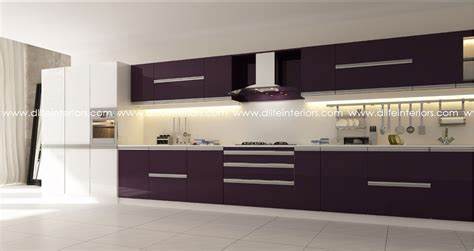 straight line kitchen design 5 styles of customized modular kitchens in kerala