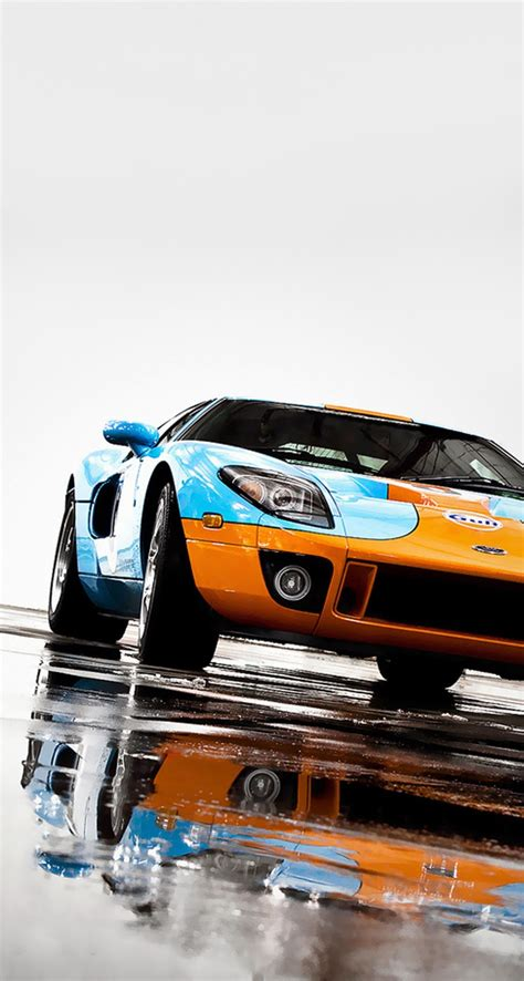 iphone retina wallpapers  iphone csplus ford gt