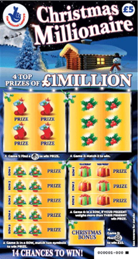 lottery tickets not stocking stuffers for kids risk