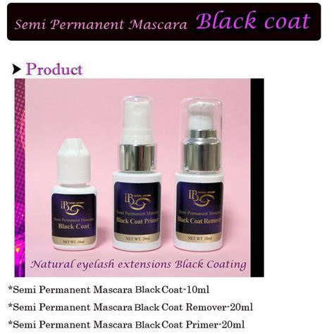 Primer Coat Black Aliexpress Buy Semi Permanent Mascara Lash Coat