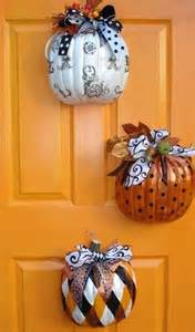 pumpkin tree decoration pumpkin door decorations fall decorations pinterest