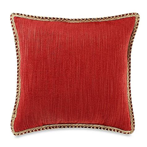 bed bath and beyond maui buy maui ivory 20 inch square throw pillow in red from bed