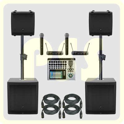Paket Sound System Indoor Dan Outdoor Yamaha Original paket sound system aktif 8000 watt paket sound system profesional indonesia