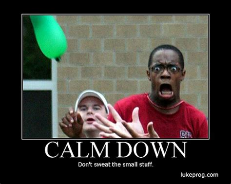Calm Down And Meme - demotivationals de motivationals pinterest