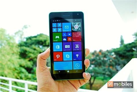 Review Microsoft Lumia 535 microsoft lumia 535 review 91mobiles