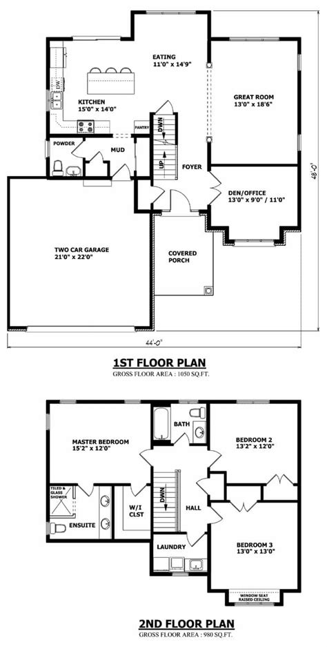 two storey house designs and floor plans optimum 2 storey house plans 1228 home design