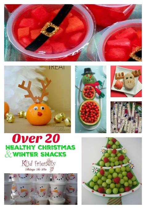 fruit more over 20 non candy healthy kid s christmas
