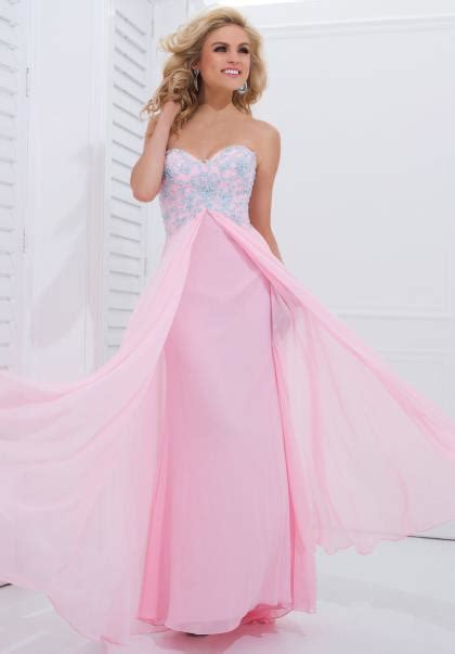 light pink formal dresses how to look in pink prom dresses iris gown