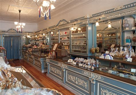 Colonial Home Decorating Sweet Nostalgia At Shane Confectionery
