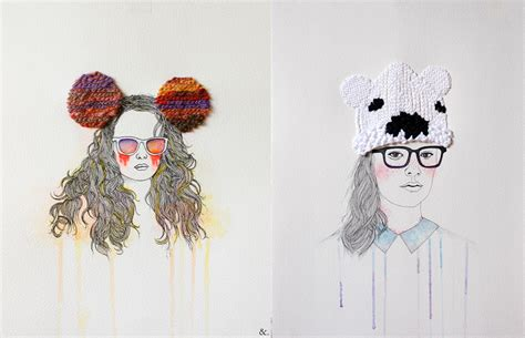 fashion illustration embroidery fashion illustrations with embroidered accents and accessories by izziyana suhaimi colossal