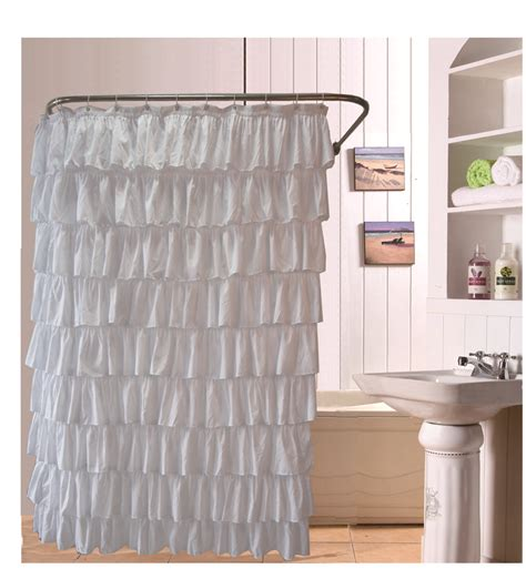 shower curtain prices compare prices on ruffle shower curtain online shopping
