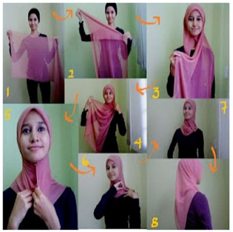 tutorial hijab segitiga tanpa dalaman 7 tutorial hijab pashmina wajah bulat simple hijabyuk com