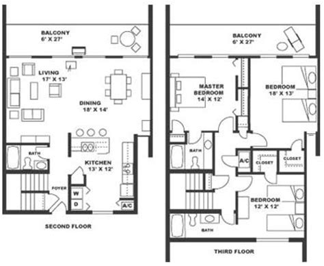 3 bedroom beach house plans 3 bedroom beach house floor plan house design ideas