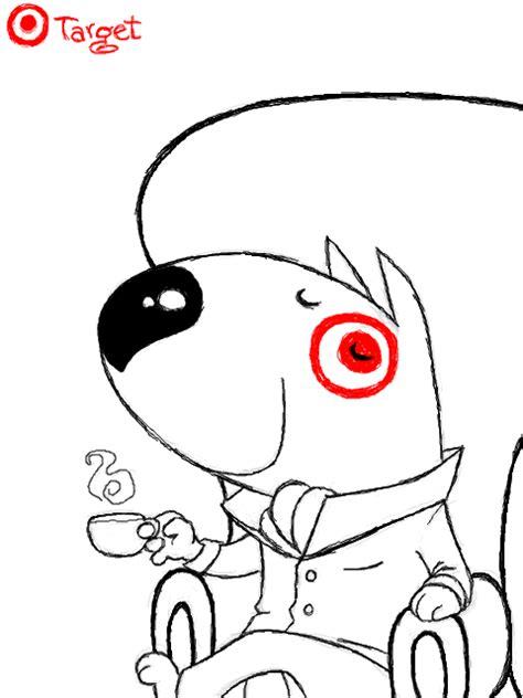 target dog coloring page target bullseye dog coloring pages coloring pages