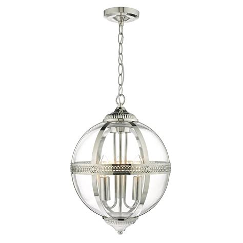 3 light glass pendant 3 light ceiling pendant in polished nickel finish