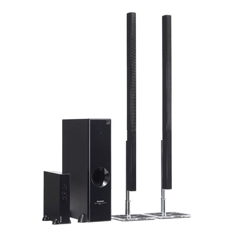 sharp htsl77 2 1 channel sound bar home theater system ht