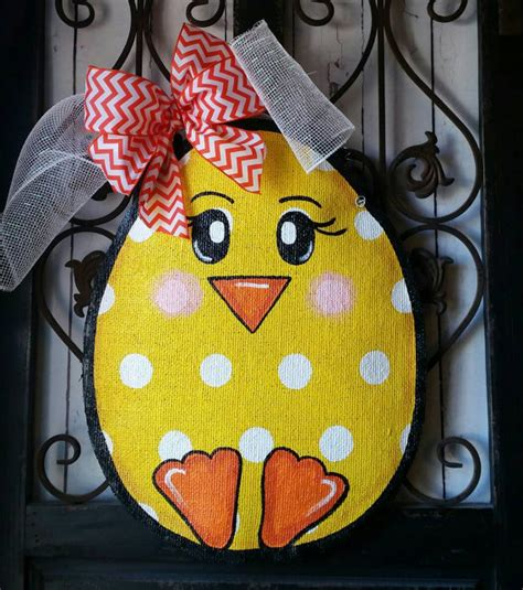 decoration hangers easter egg burlap door hanger decoration and wreath