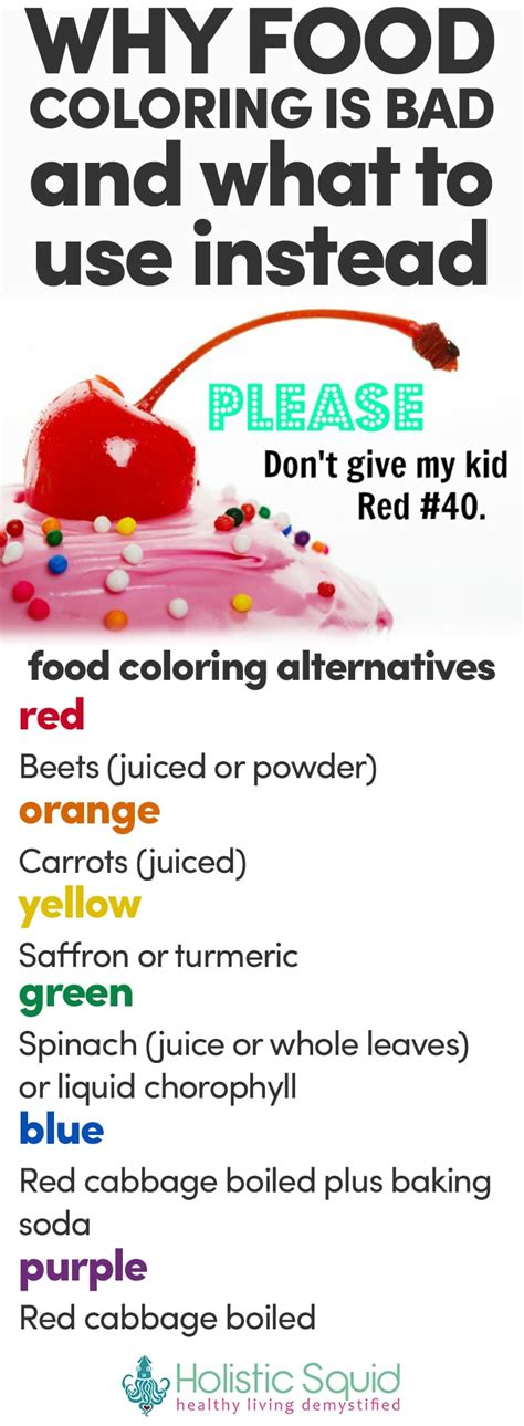 is food coloring bad for you why food coloring is bad what to use instead neo coloring