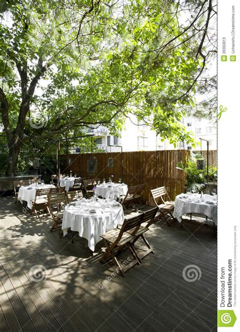 Garden Catering by The Beautiful Garden Restaurant Stock Photos Image 26350813