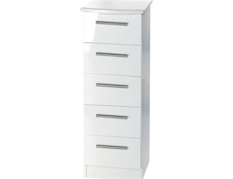 white gloss 8 drawer chest queen 5 drawer narrow white high gloss chest