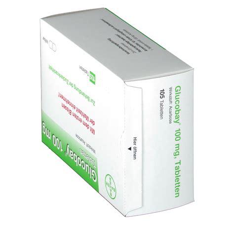 Glucobay Tablet 50 Mg glucobay 100 tabletten shop apotheke