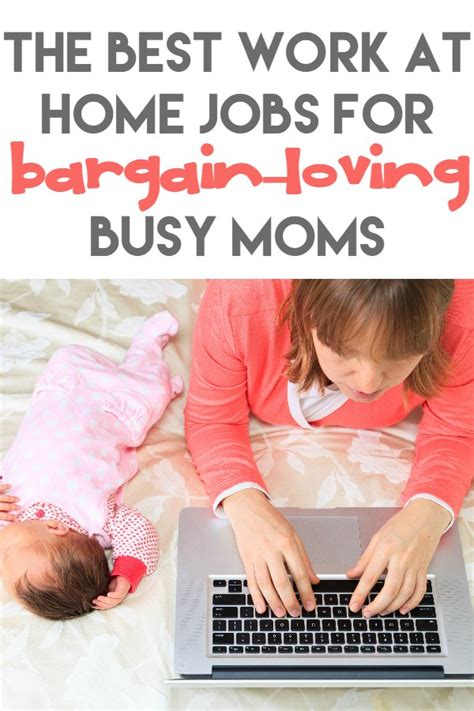 the best work at home for bargain loving busy