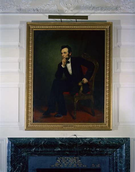 abraham lincoln white house kn c18665 portrait of abraham lincoln in the white house
