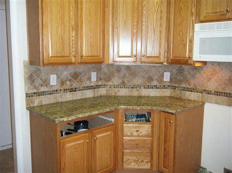 santa cecilia granite with customtile backsplash design in
